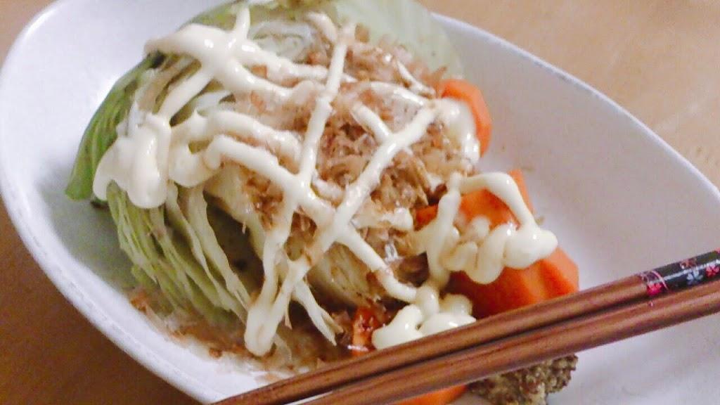 クックフォーミーで作る蒸し野菜。ヘルシー料理もばっちりでダイエットにオススメ
