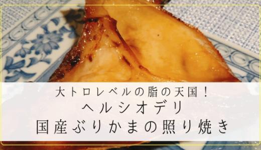 【魚なのに驚異のカロリー1153kcal】ヘルシオデリ「国産ぶりかまの照り焼き」を食べてみた