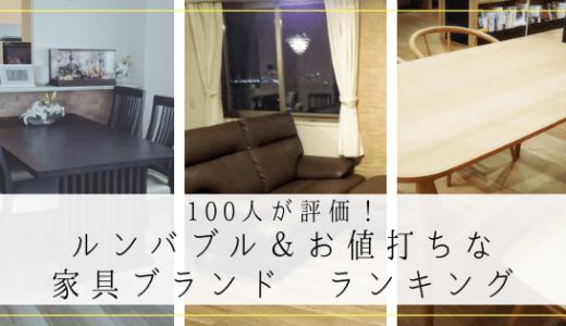 100人が評価!ルンバブル&おしゃれな部屋を安く作れる家具ブランドランキング【ニトリ・IKEA・無印など】
